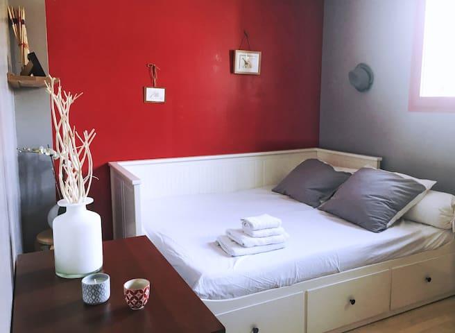Chambre au calme + SDB & WC aux portes de Nantes