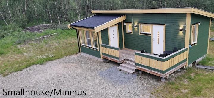 Small house in nature enviroment in Karasjok