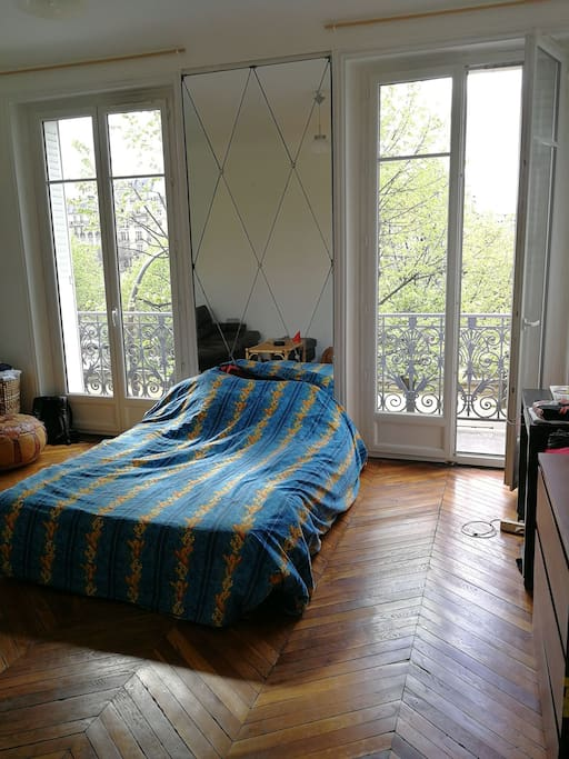 Chambre, coin sommeil