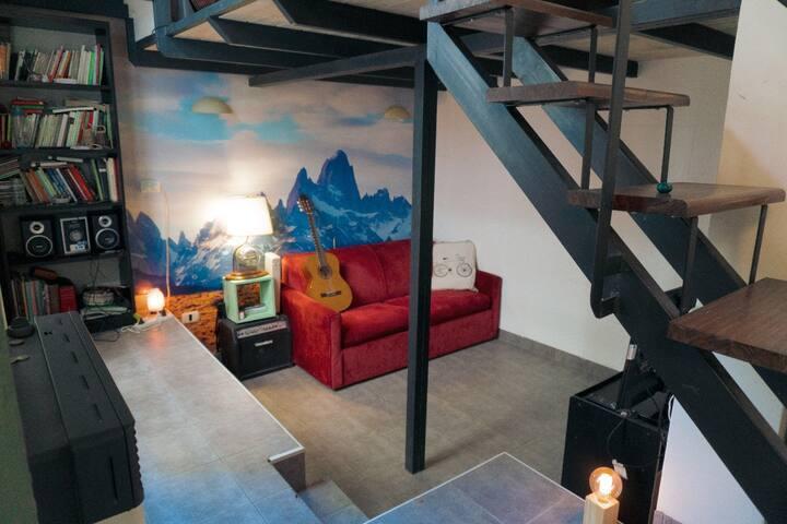 Elegant abundant Loft
