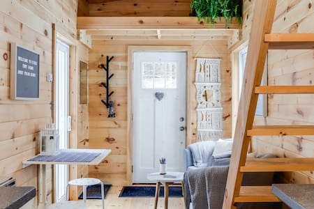 Little Loveshack. Off grid tiny house + big forest