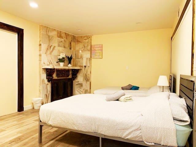 ❤️#4 Beautiful Private Bedroom - Disneyland