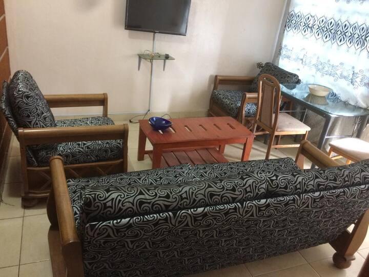 Logement meublé et équipé à Cotonou centre-ville.
