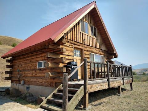 2 bedroom cabin overlooking the Salmon River #2