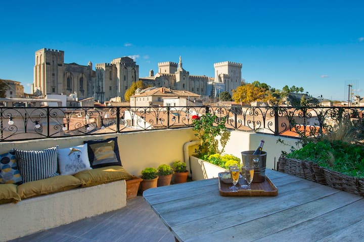 On the roofs of Avignon, 2 bedrooms - Avignon - Apartment
