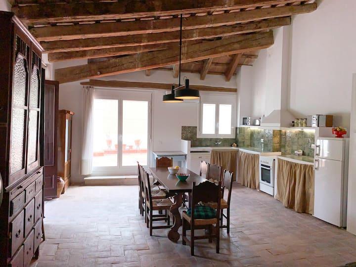 Loft amb terrassa al bell mig de Tortosa