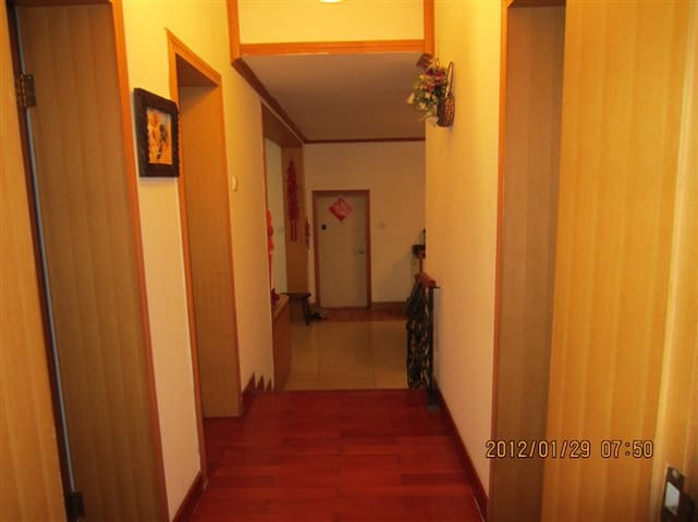 东方古朴以现代结合装饰的家,舒适的卧室,回归大自然的卫生间,艺术书房。 - Deyang - Apartemen