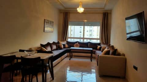 Luxury apartment in central Tanger next to the sea