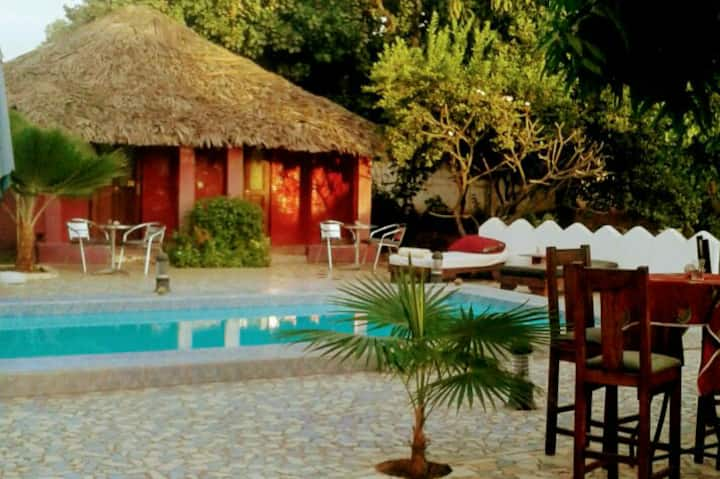 1. The Plantation Gambia Boutique hotel  (1 guest)