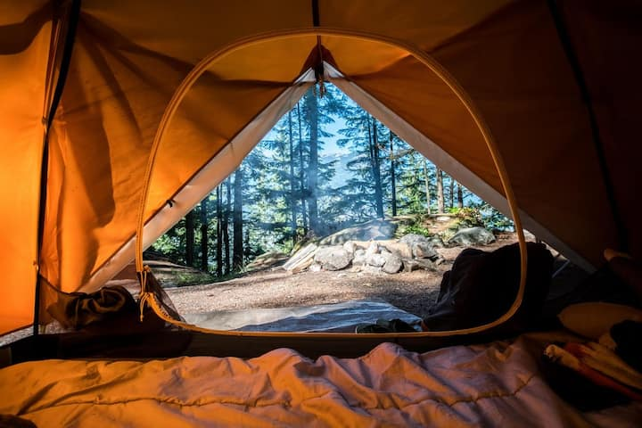 Cannabis Friendly Tent Camping on Crooked River