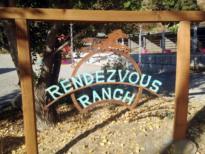 Ranch bunkhouse
