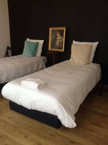 Cozy vintage room for 2 in center - Antwerpen - Bed & Breakfast