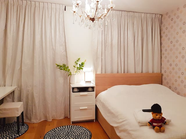 Clean and Comfy Room. Close to center & beach.