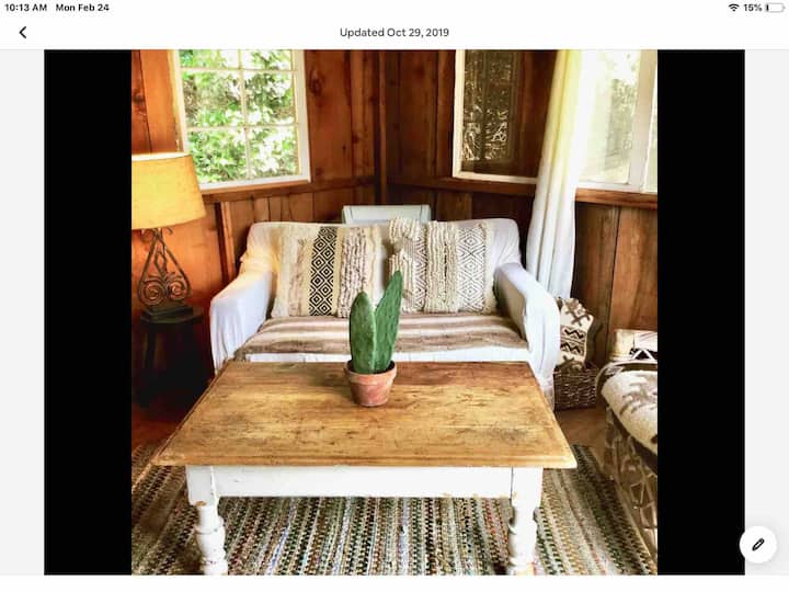 Relaxing getaway cabin