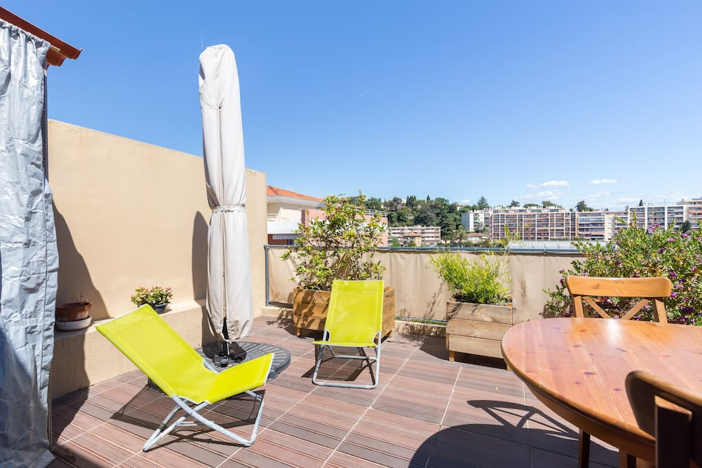 Grande terrasse de 20 m2