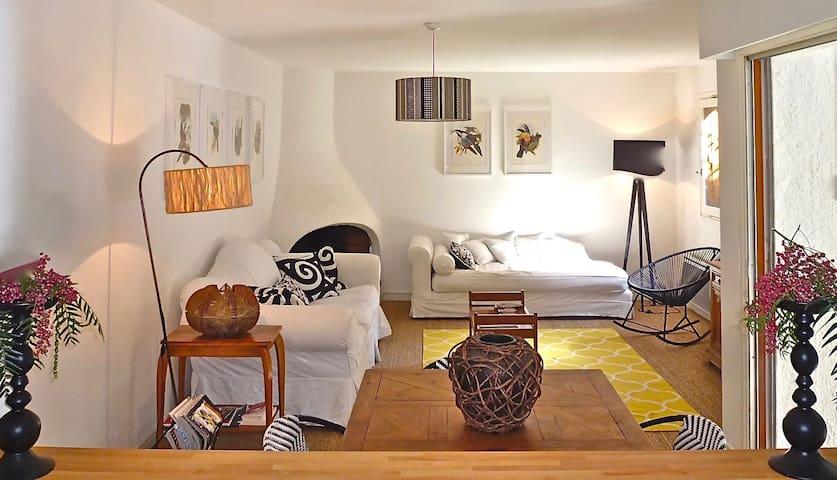 Appartement/Maison, jardin, 5 min. de la mer,calme - Collioure
