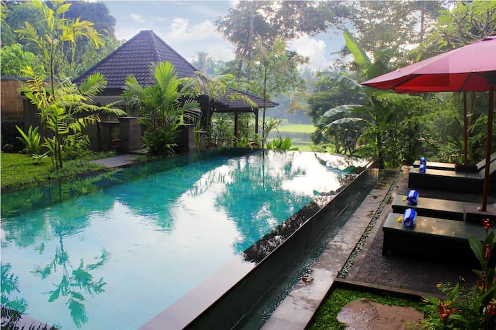 #6 NEW 1BR Truly Balinese Hospitality Experience - Tegallalang - Willa