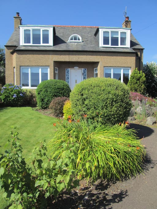 The Crandard, located in a very tranquil residential area with fine countryside views