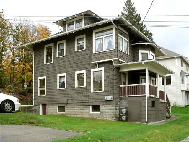 30 day minimum rental. Duplex Unit A, lower level.