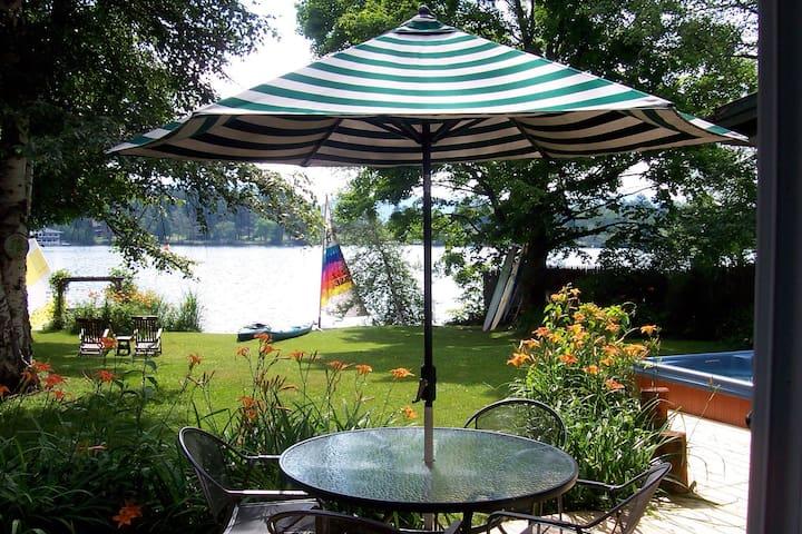 Vacation on Mirror Lake in Lake Placid, NY