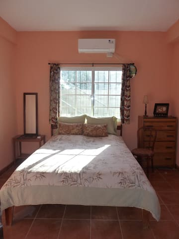Master bedroom air conditioned