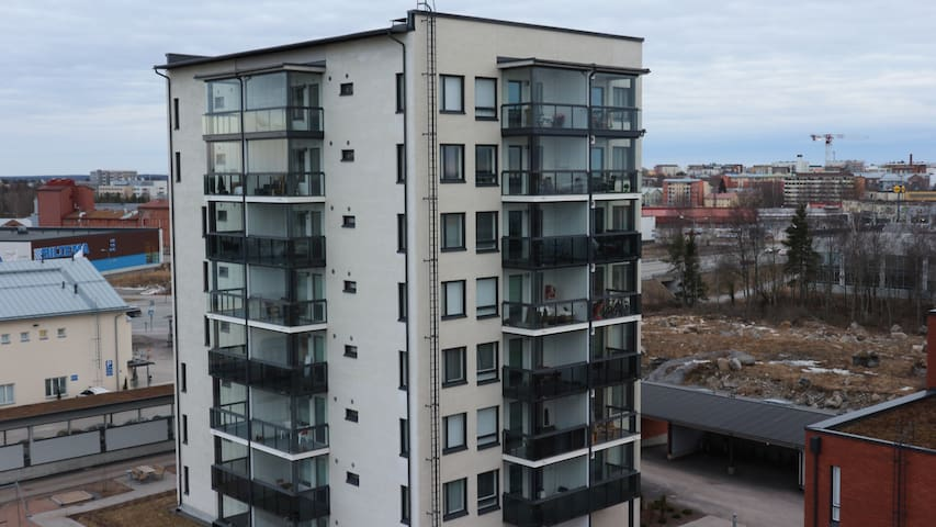 New apartment on top floor - Vaasa - Apartment