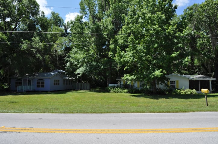 Two houses with lots of space - Homosassa - Dom