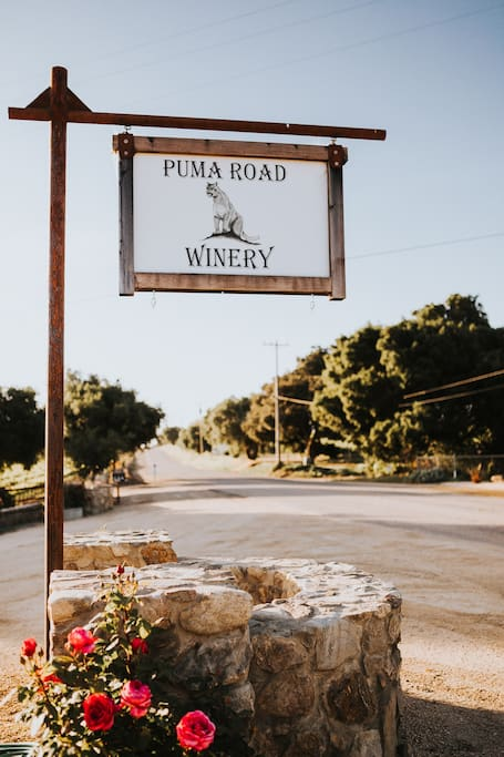 Puma Road Winery & Tasting Room located 2.4 miles from the Highlands House