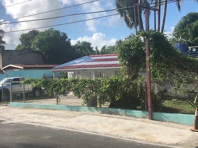 Piñones Beach House on Route 187