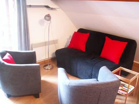 Appartement confortable avec vue sur la montagne