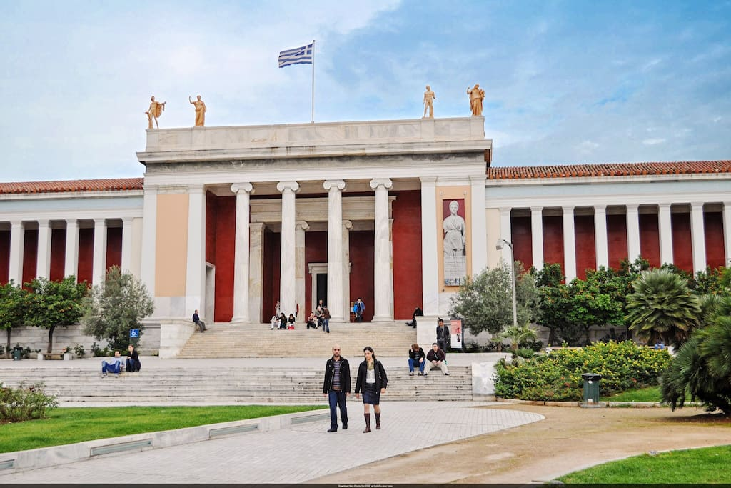 Only 5 minutes walking distance to the Archaeological museum