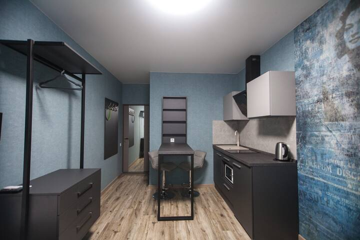 Apartment near metro Vyrlitsa
