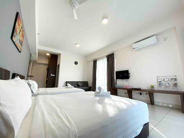 Homesuite AS#7 | For 2-4 | Kota Kinabalu Aeropod