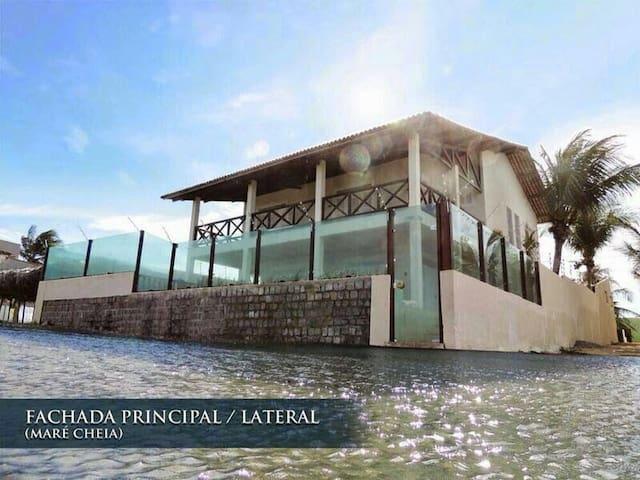 Casa de Praia Beira Mar em Camurupim- RN