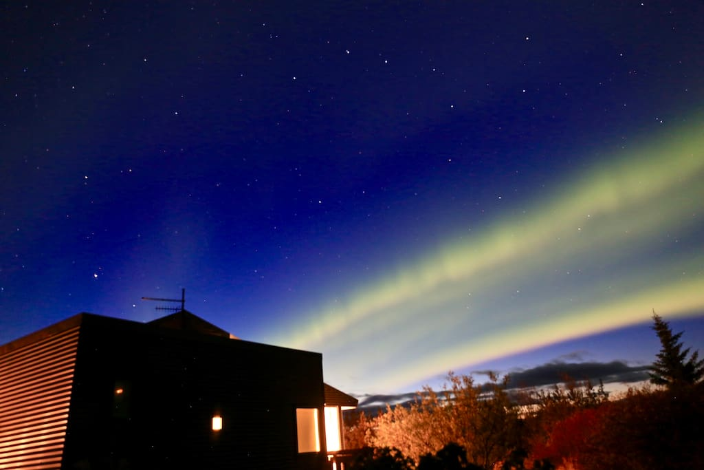 Taken in early January. Here the Northern Lights can be extremely bright