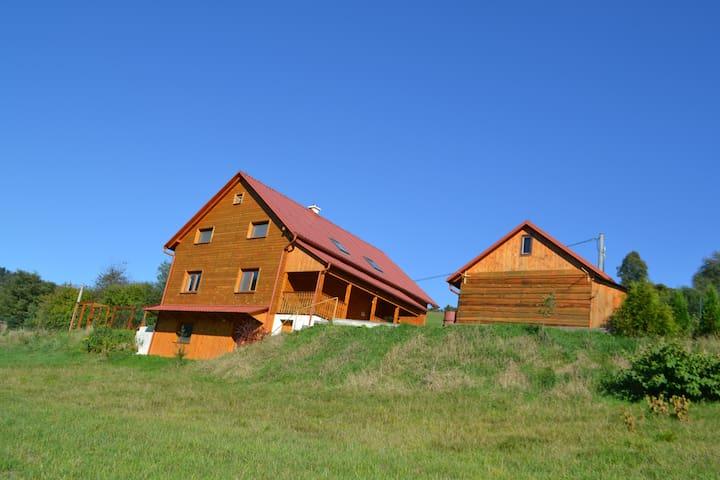 Modern, large Slovak cabin