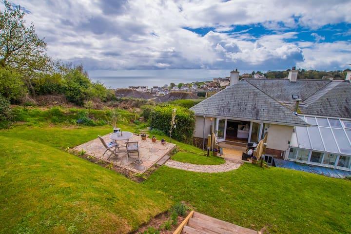 Luxury Studio, Sea Views, Coast Path in Budleigh