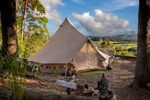 Glamping in Style @ Harmony Hill - Gypsy Bell Tent