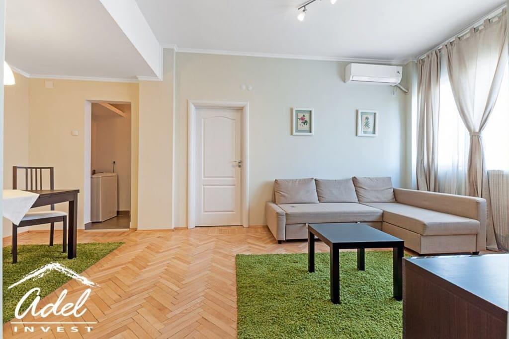 Extensible sofa