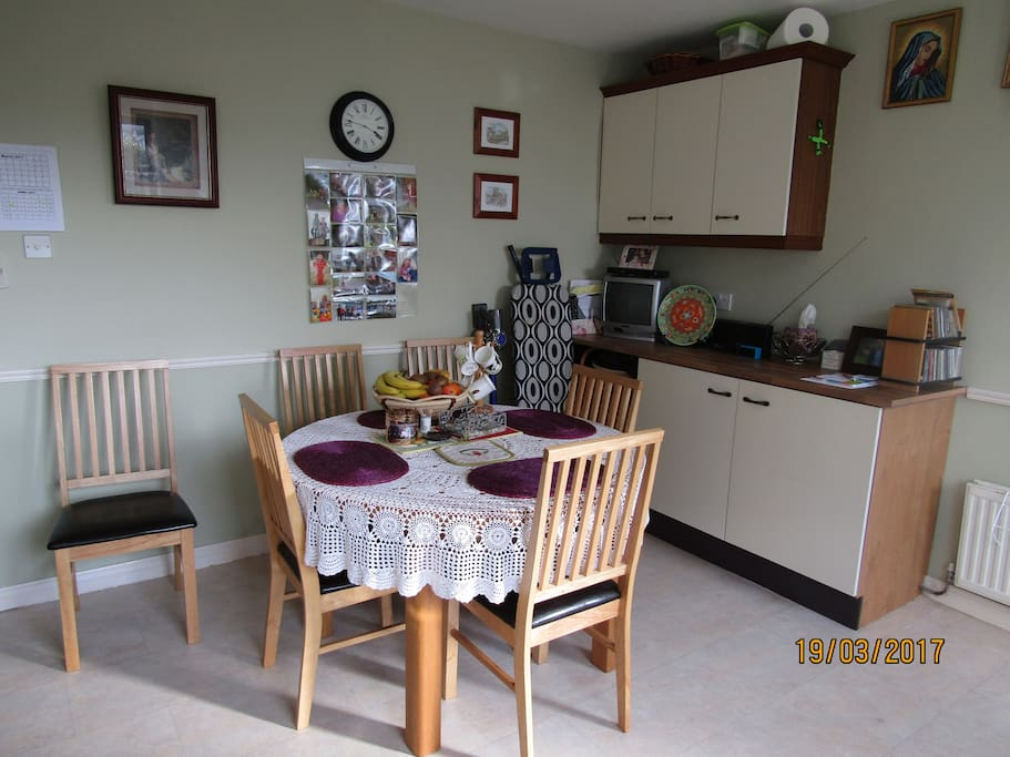 Dining area, kitchen