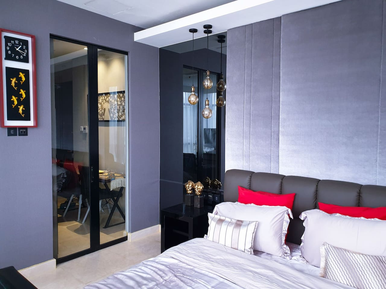 bedroom with luxury design