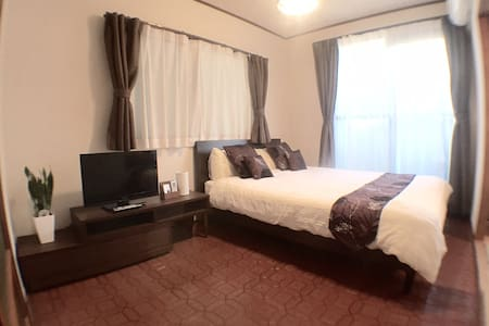 3 bedroom Family room up to 6 pax mobile WIFI - Hiroshima  - Appartement