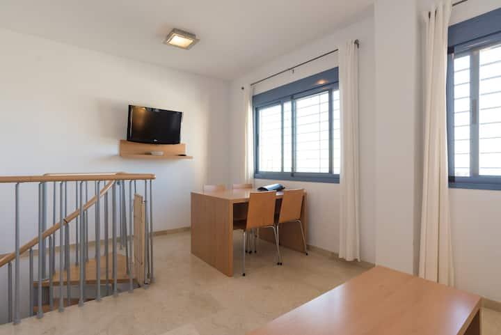 Apartment dupplex with sea view