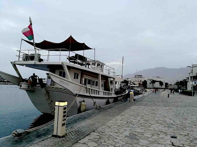Muscat ,Sifa resort,charter Dhow,Floating home