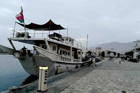 Muscat ,charter Dhow,Floating home