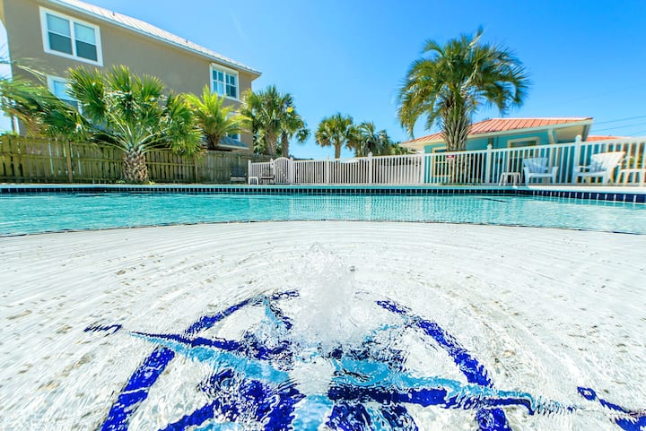 DEAL>Dec 3-6 $742☀Private Pool☀4 Bikes☀Inspected & Disinfected☀3BR Blue Laguna