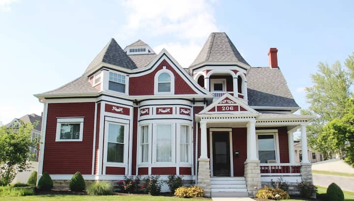 The Clarkson House - large historic family home