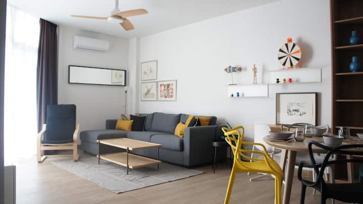 CIELO. Precioso apartamento frente al mar