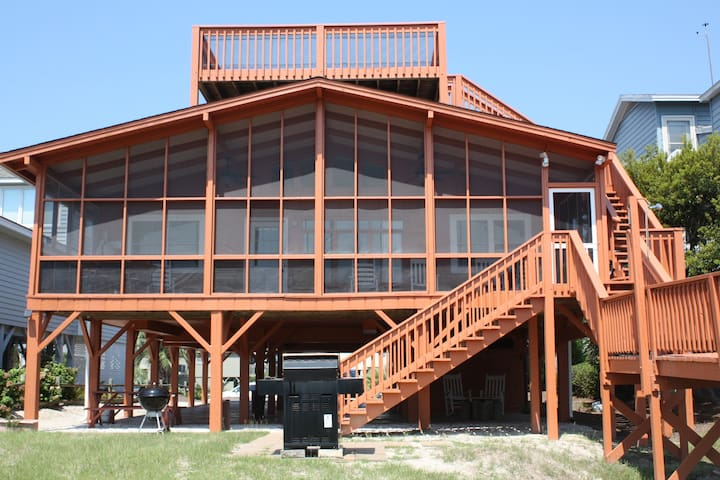 "OCEANFRONT GUEST FRIENDLY ""THE JEWEL ON THE BEACH"" - Sunset Beach - Haus"