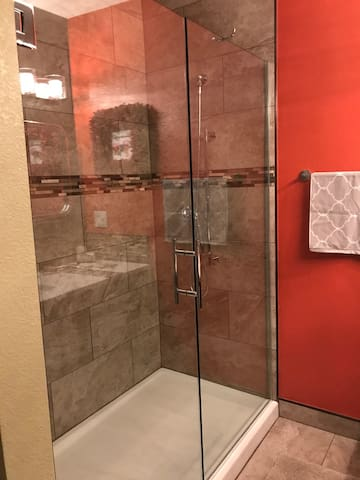 Your bathroom (shower for 2)